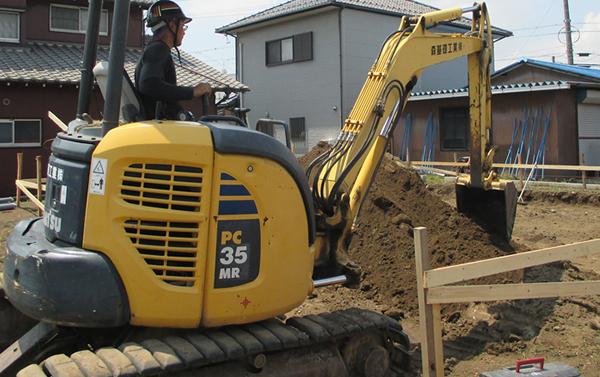 安全安心の住宅基礎工事